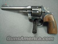 Colt Shooting Master 38  Colt Double Action Revolvers- Pre-1945