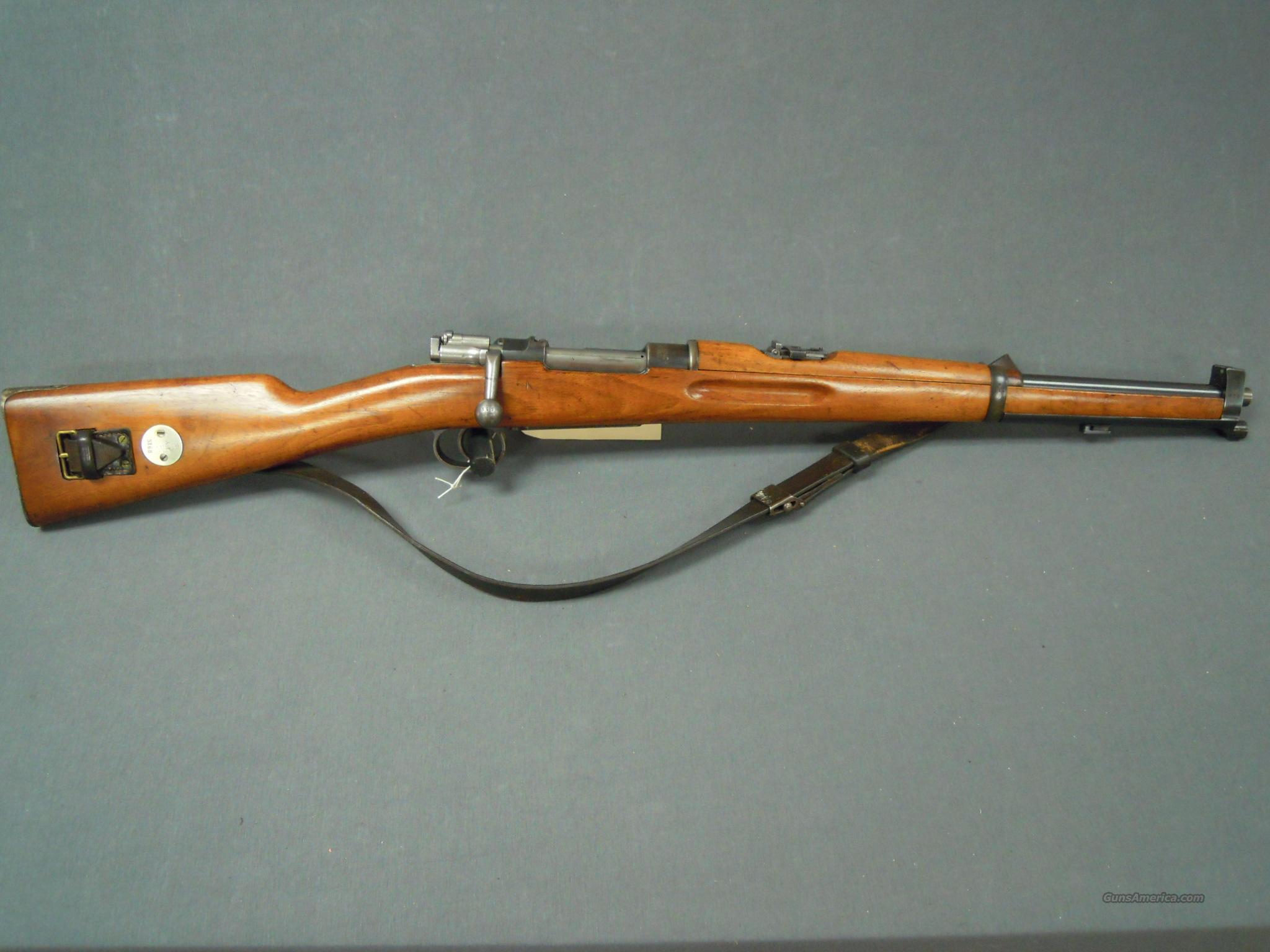 Swedish Mauser 6.5x55  Guns > Rifles > Mauser Rifles > German