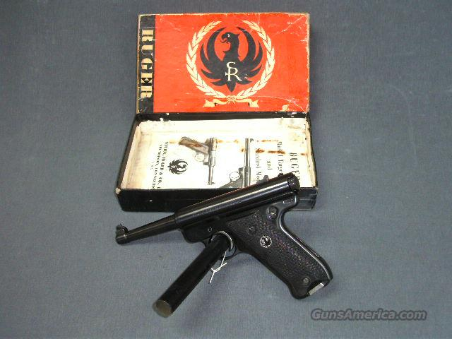 Ruger MK1 RST4  Guns > Pistols > Ruger Semi-Auto Pistols > Mark I & II Family