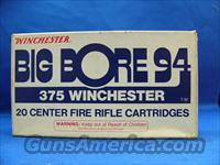 375 Winchester Big Bore 94 Ammo  Non-Guns > Ammunition