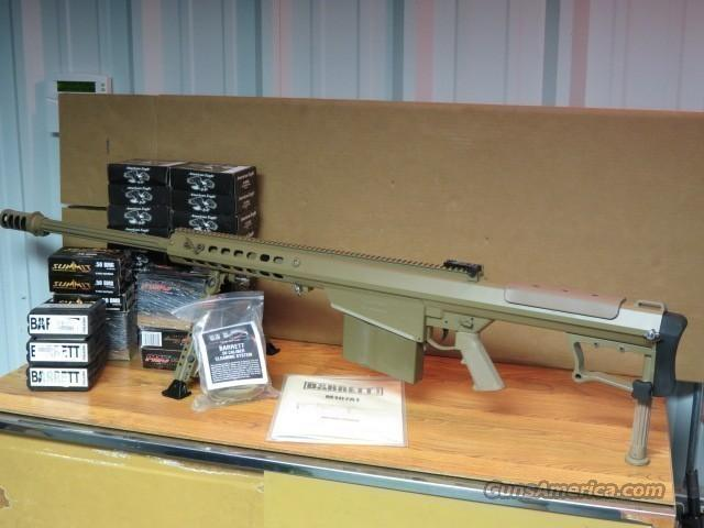 "BARRETT M107A1 50 BMG 29"" SNIPER RIFLE  Guns > Rifles > Barrett Rifles"