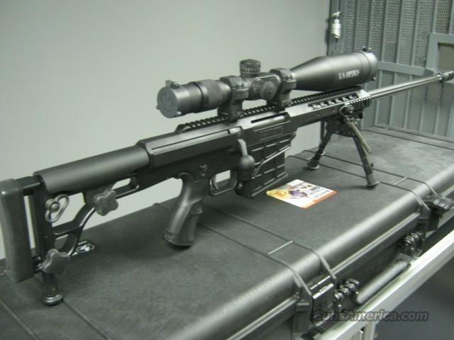 "BARRETT 98B 338 LAPUA 27"" BOLT ACTION REPEATER W/ HARRIS SWIVEL BIPOD, 2 MAGS, PELICAN CASE, AND MUZZLE BREAK  Guns > Rifles > Barrett Rifles"