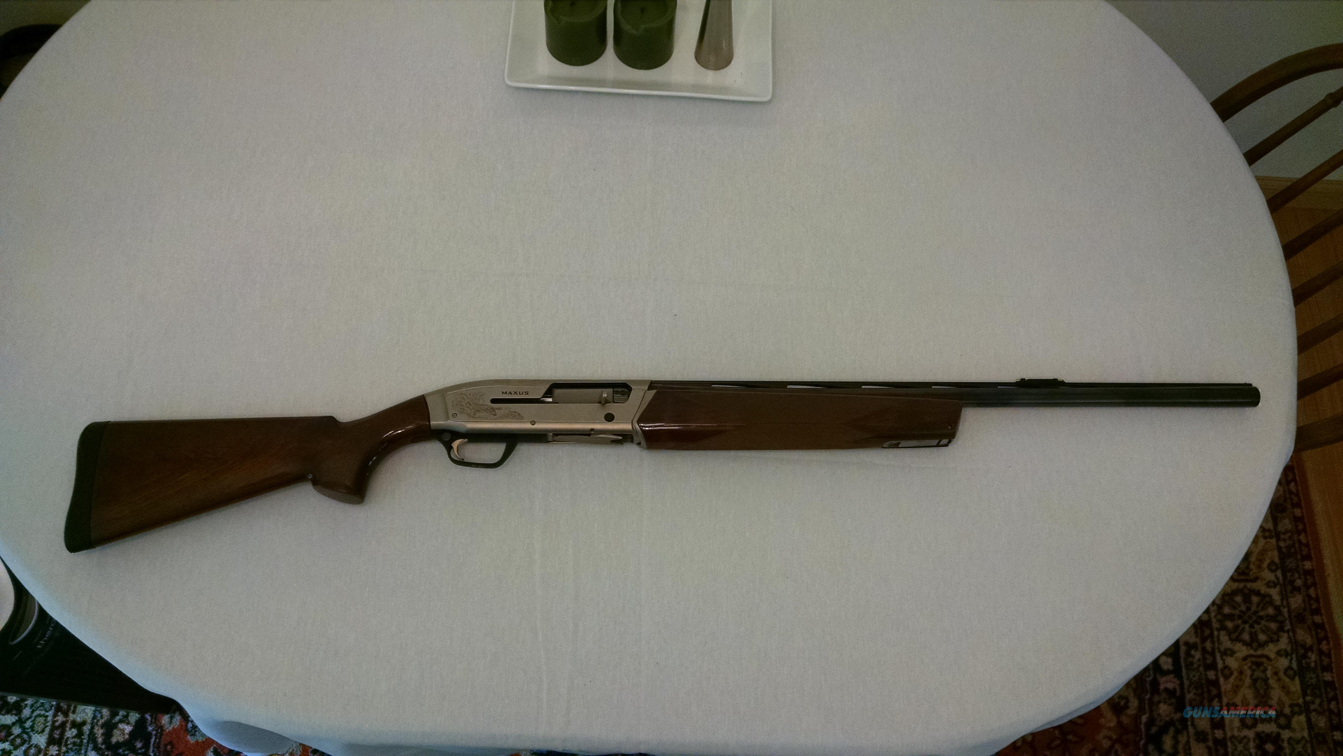 Browning Maxus Hunter 12 gauge  Guns > Shotguns > Browning Shotguns > Autoloaders > Hunting