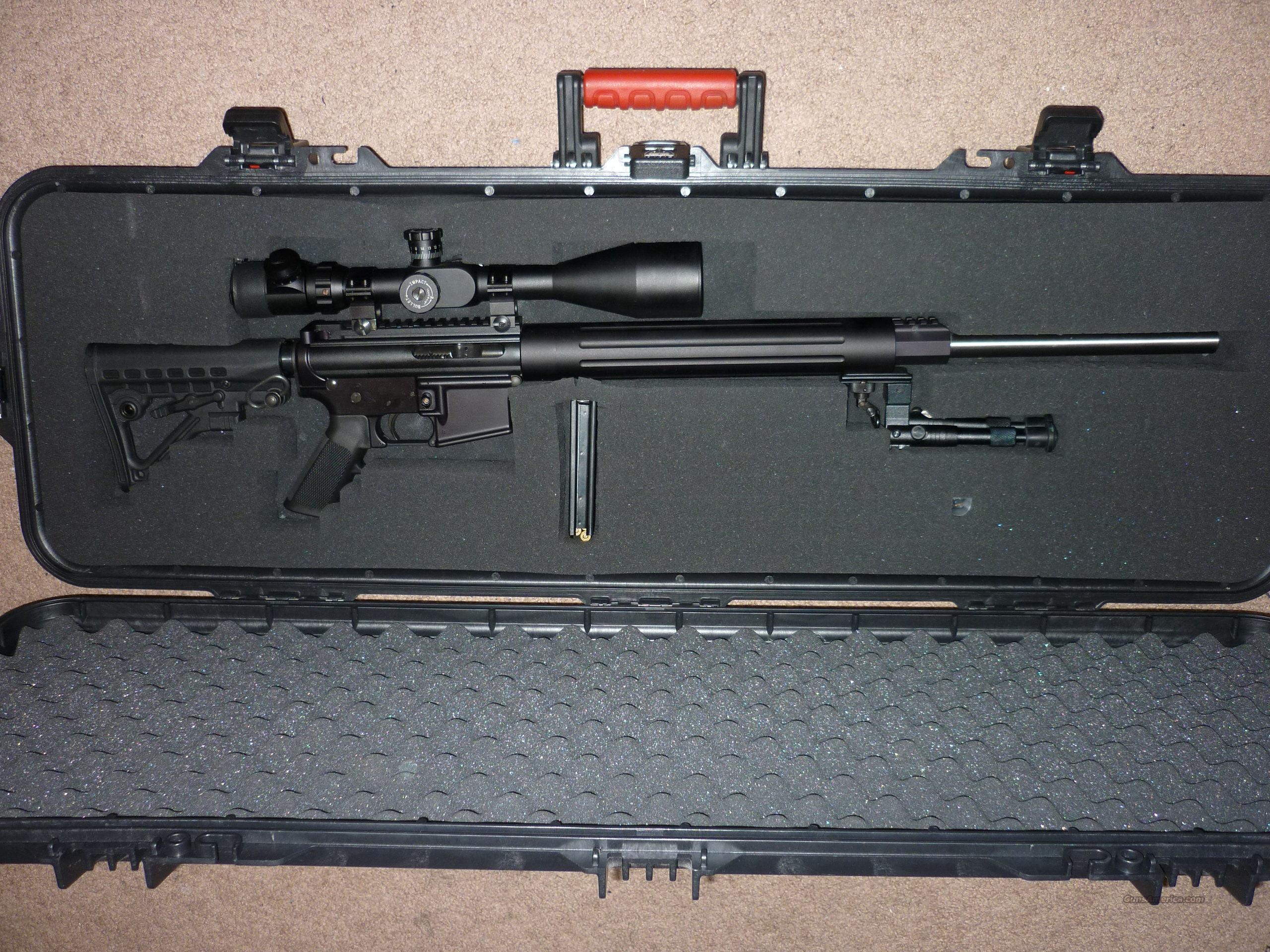 AR-15 based Sniper Rifle  Guns > Rifles > AR-15 Rifles - Small Manufacturers > Complete Rifle