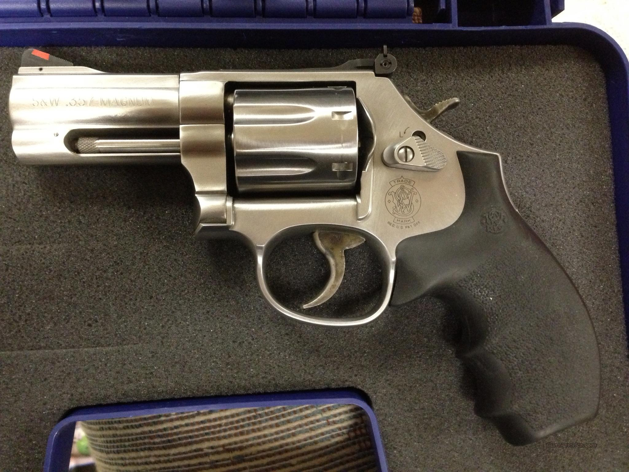 "Smith & Wesson 686+. SS 357 Mag. 3"" Barrel.   Guns > Pistols > Smith & Wesson Revolvers > Full Frame Revolver"