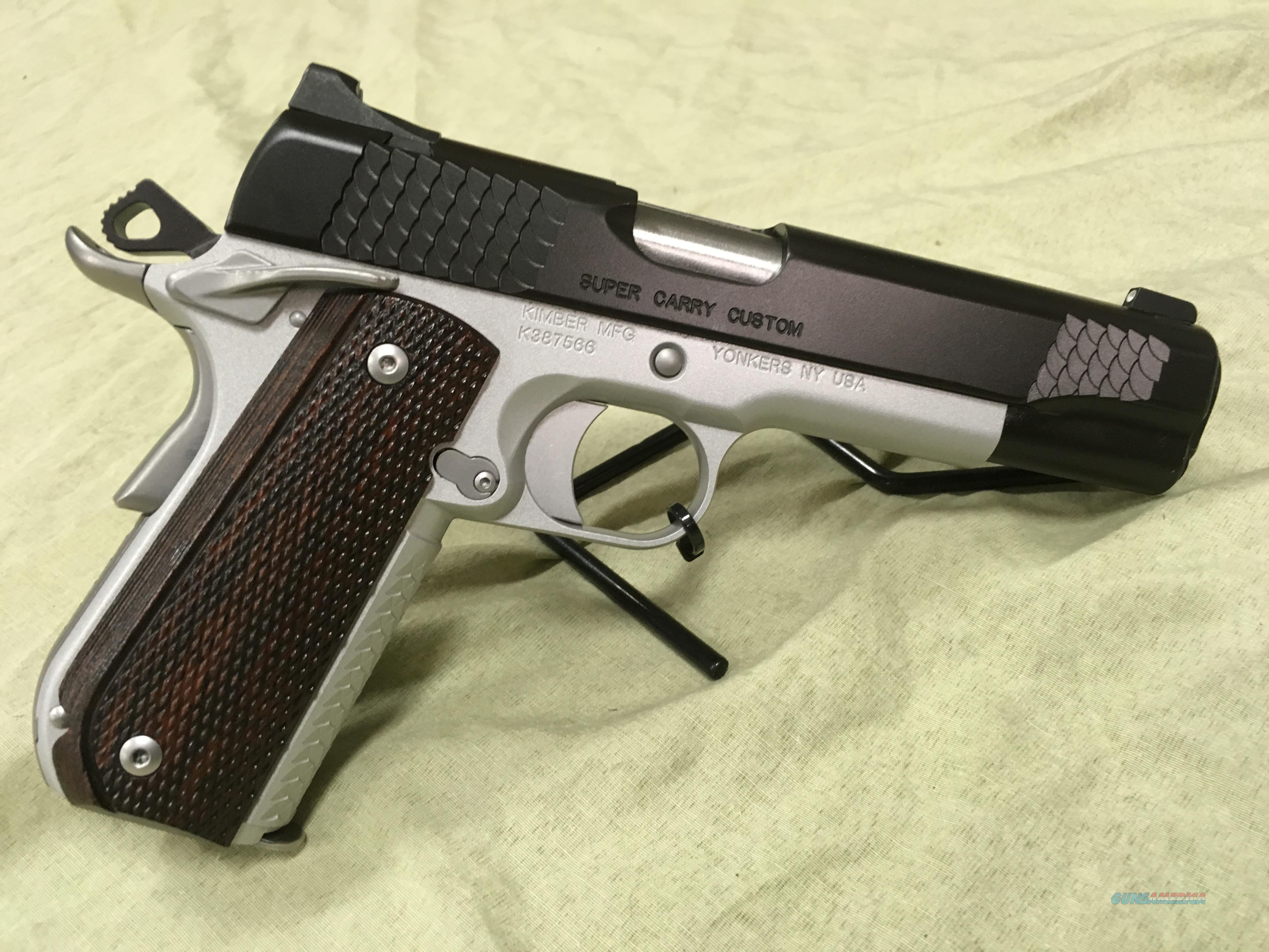 Kimber Custom Shop Super Carry Custom 45acp  Guns > Pistols > Kimber of America Pistols