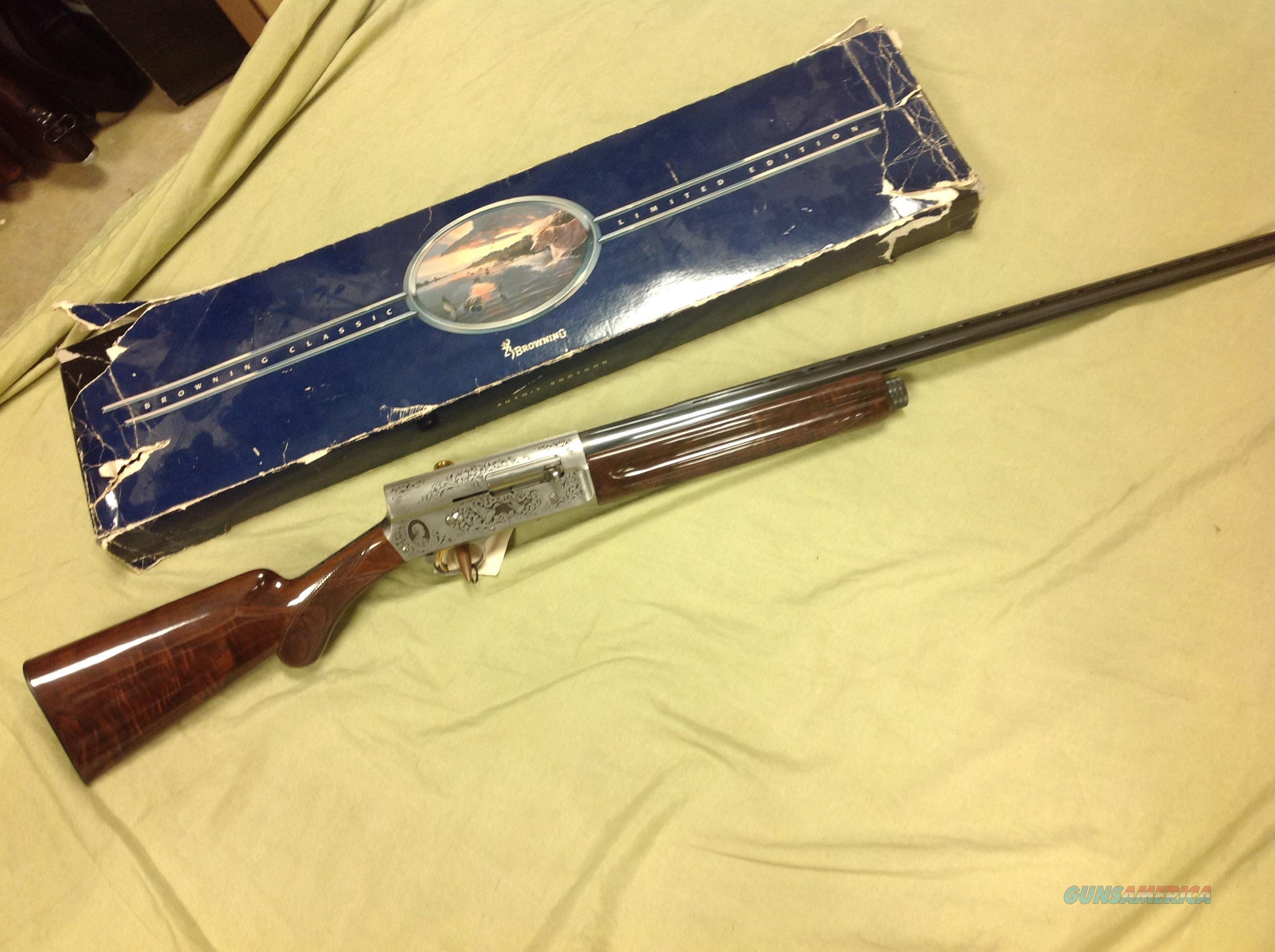 Browning A5 Classic light 12ga 1 of 5000  Guns > Shotguns > Browning Shotguns > Autoloaders > Hunting