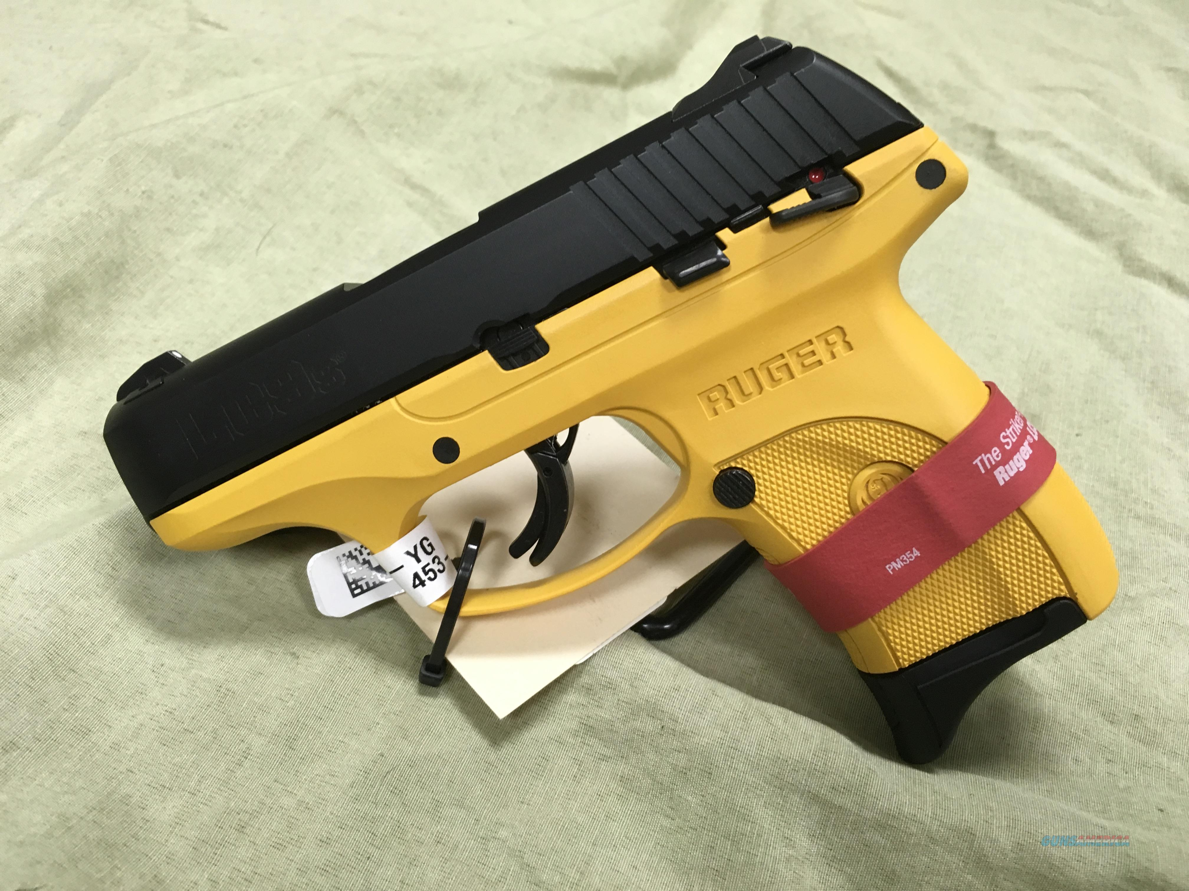 Ruger LC9S 9mm Construction Yellow  Guns > Pistols > Ruger Semi-Auto Pistols > LC9