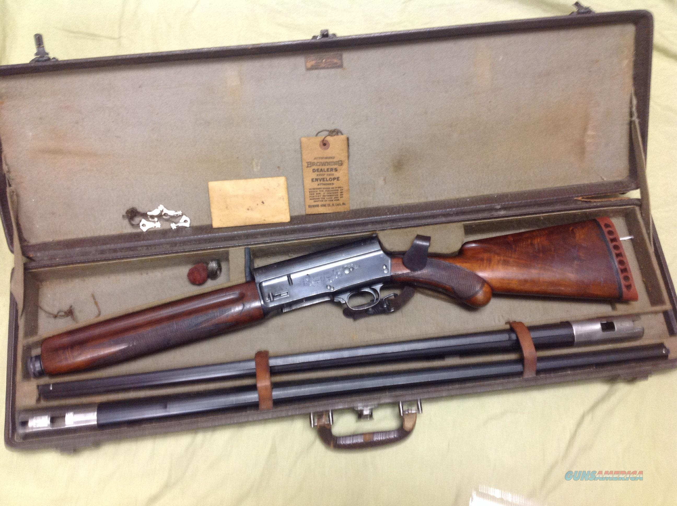 Browning auto 5 collector very rare for 16 box auto
