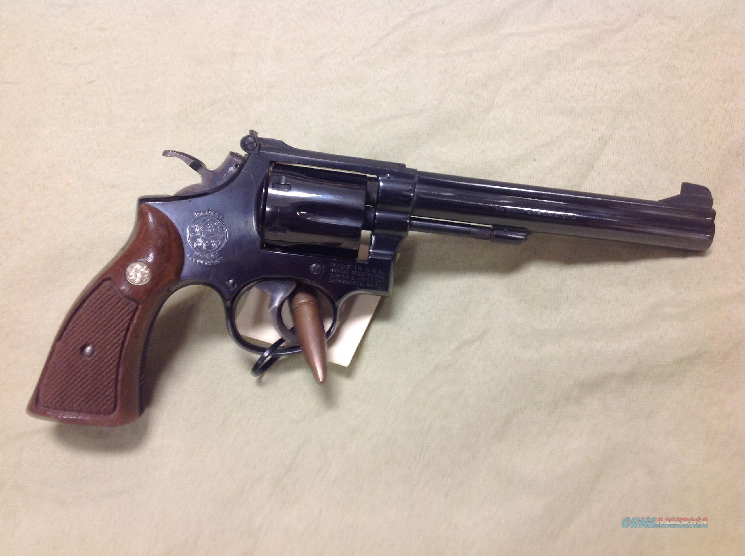 Smith & Wesson model 14-3 38 special target model  Guns > Pistols > Smith & Wesson Revolvers > Full Frame Revolver