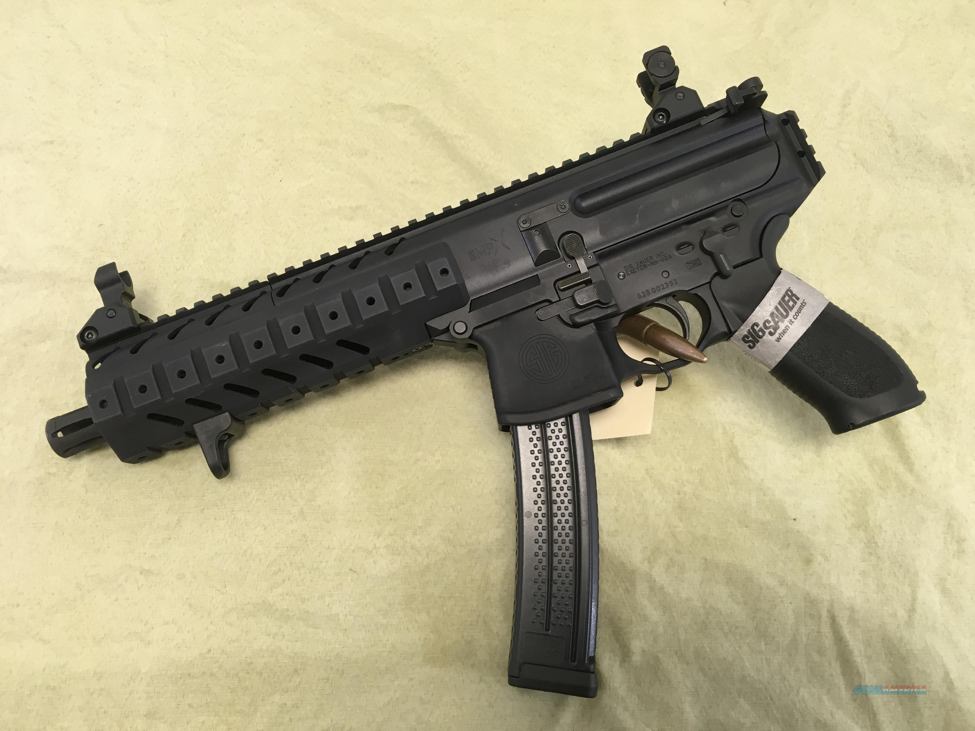 Sig MPX 9mm AR style pistol NIB  Guns > Pistols > Sig - Sauer/Sigarms Pistols > Other