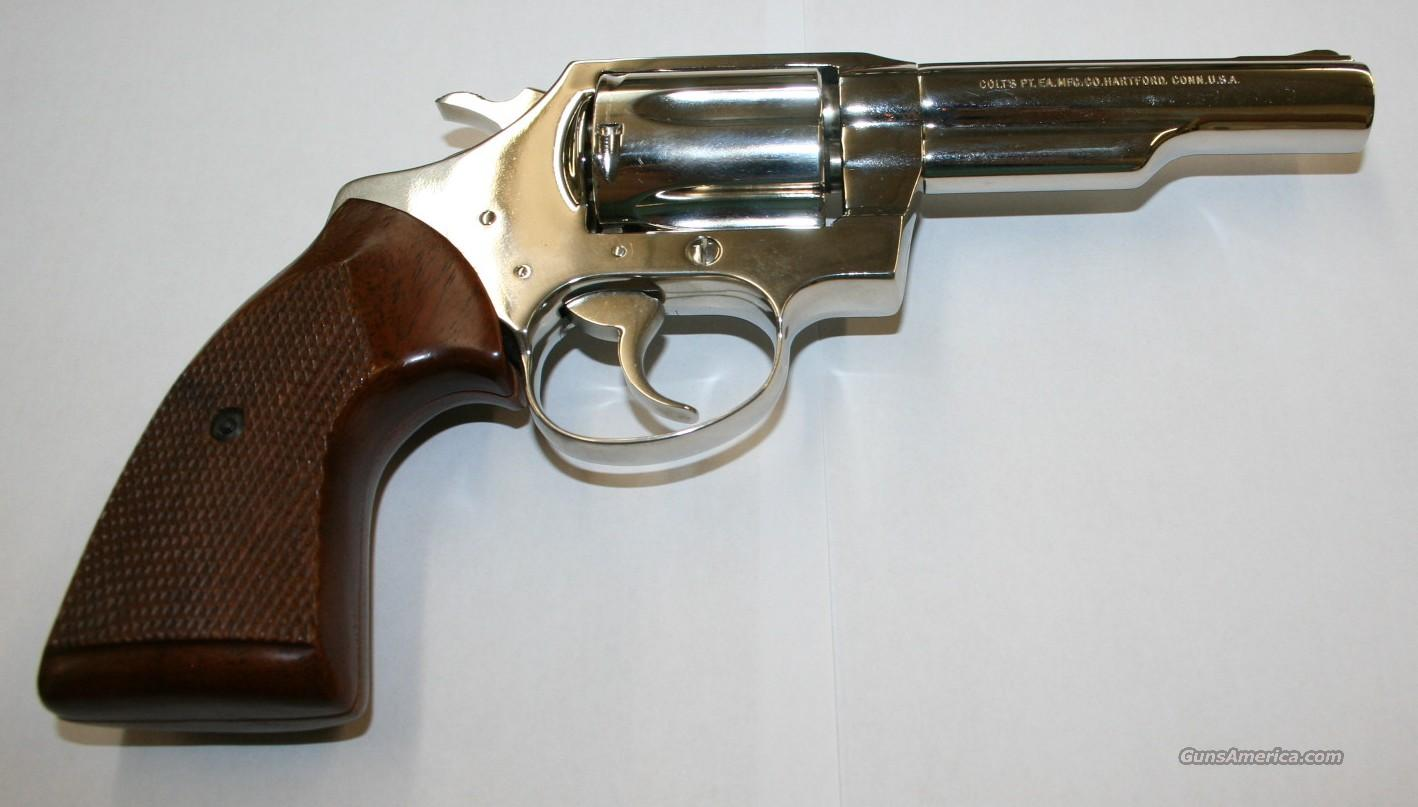 Colt Police Positive .38 Special *Chrome*  Guns > Pistols > Colt Double Action Revolvers- Modern