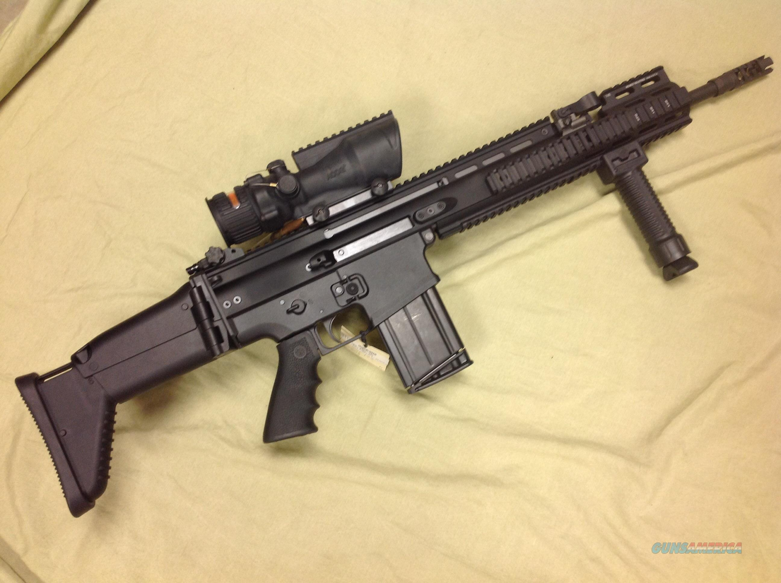 FN SCAR 17 308 w/Trijicon Red Horseshoe  Guns > Rifles > FNH - Fabrique Nationale (FN) Rifles > Semi-auto > Other