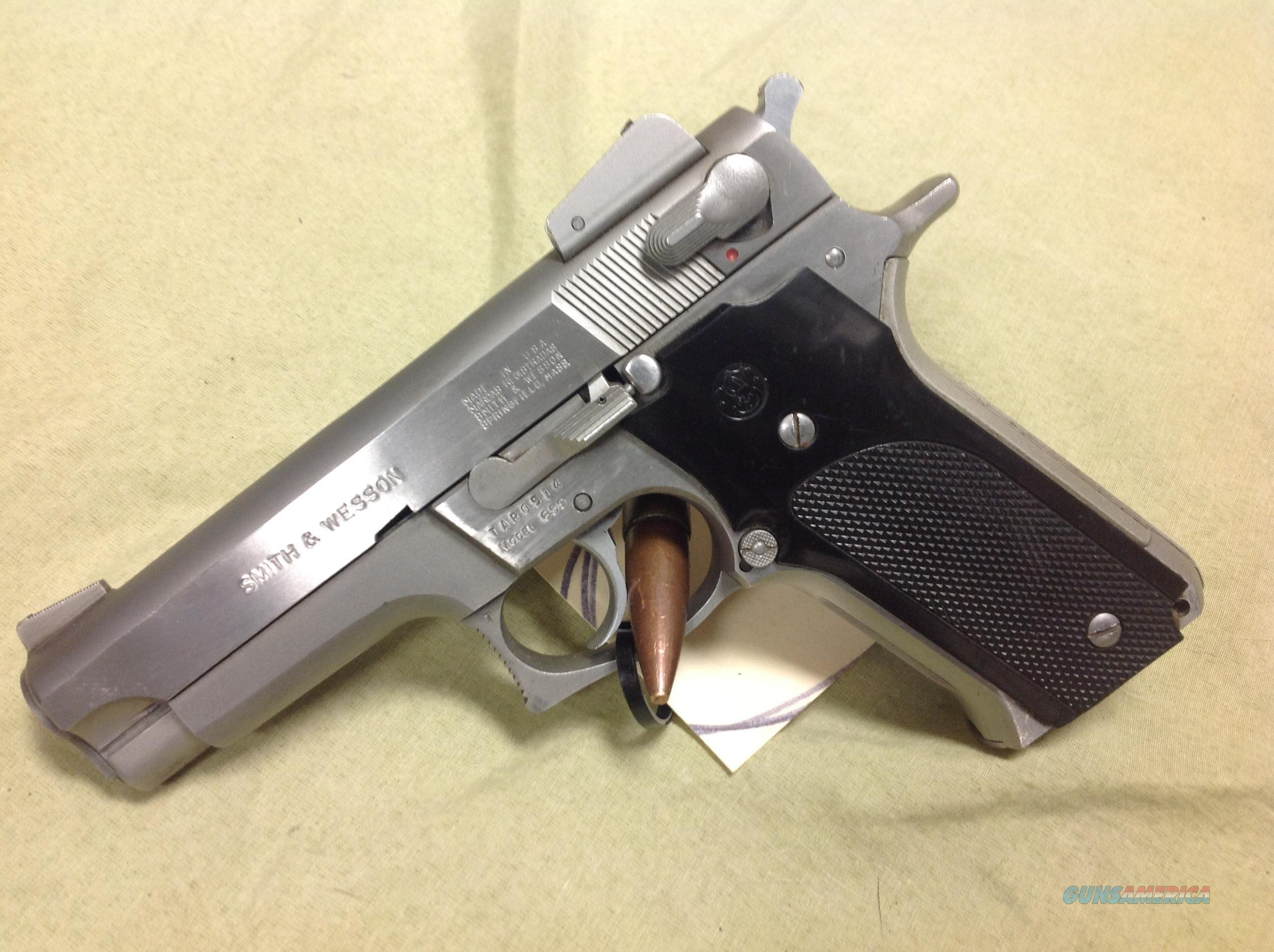 Smith & Wesson 659 Stainless. Adj sights  Guns > Pistols > Smith & Wesson Pistols - Autos > Steel Frame