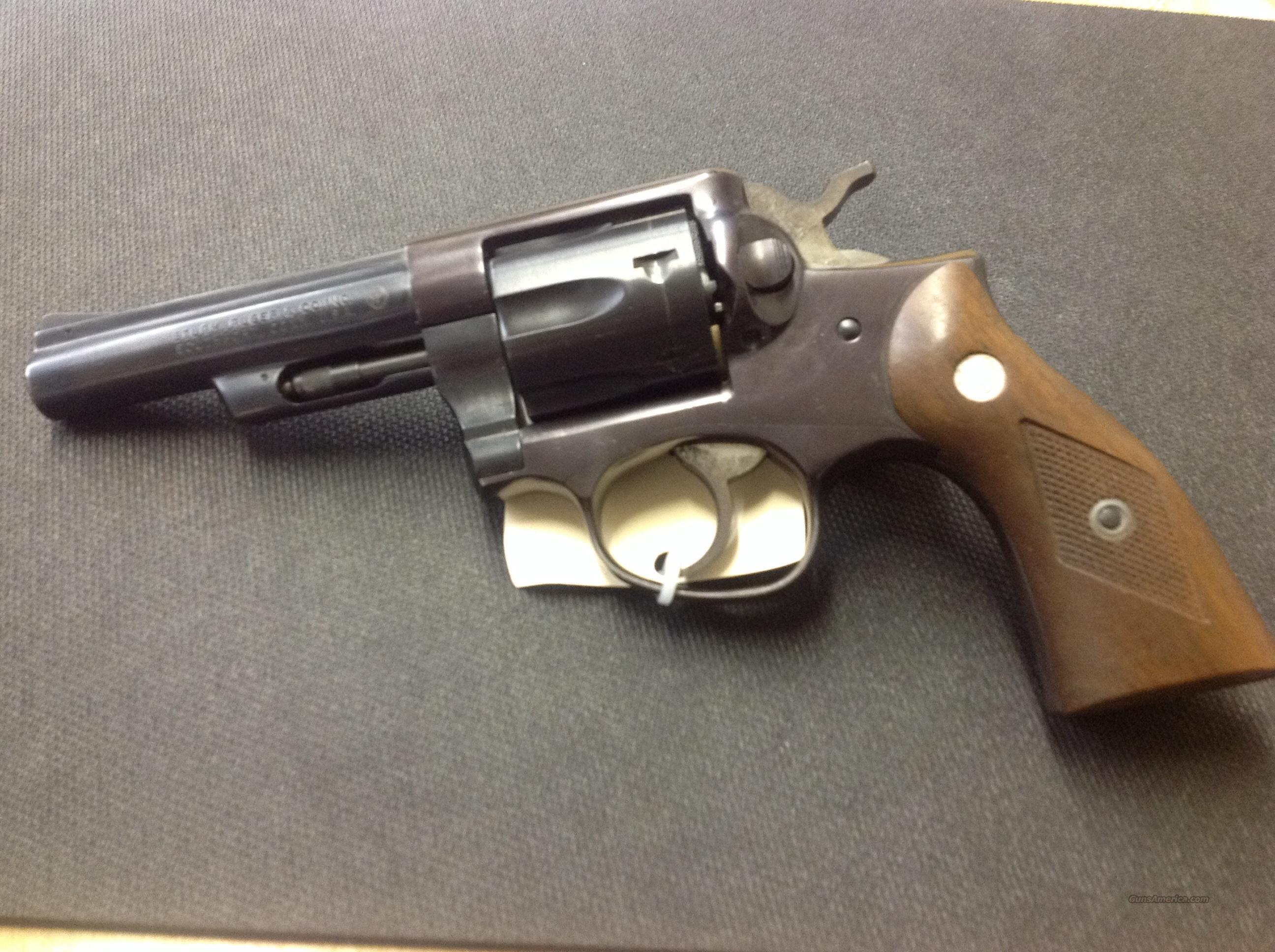 "Ruger Police Service Six 357 magnum 4"" barrel  Guns > Pistols > Ruger Double Action Revolver > Security Six Type"