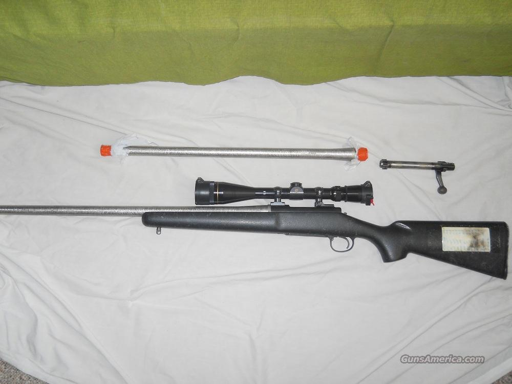 Remington 700 with custom 6mm BR & 22-250 AI Switch Barrel  Guns > Rifles > Custom Rifles > Bolt Action