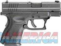 "Springfield Armory SF XD SUB-COMPACT .40SW 3"" FS 9-12 SHOT ""ESSENTIALS"" BLACK XD9802HC  Guns > Pistols > Springfield Armory Pistols > XD-S"