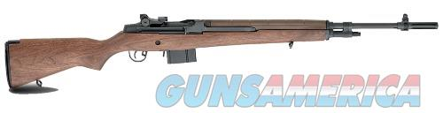 Springfield Armory M1A NATN'L MATCH 308 BL/WD 22 BLUE BARREL / WALNUT STOCK NA9102  Guns > Rifles > Springfield Armory Rifles