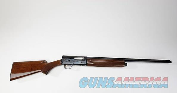 "Browning A5 Hunter Semi Auto Shotgun 12 Gauge 28"" Vent Rib Barrel 3"" Chamber 4 Rounds Walnut Wood Furniture Gloss Finish Matte Black  Guns > Shotguns > Browning Shotguns > Autoloaders > Trap/Skeet"