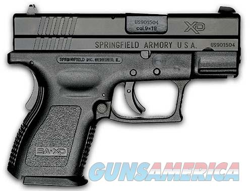 Springfield Armory XD SUB-COMPACT 9MM BLK 10+1 XD ESSENTIALS PACKAGE XD9801  Guns > Pistols > Springfield Armory Pistols > XD (eXtreme Duty)