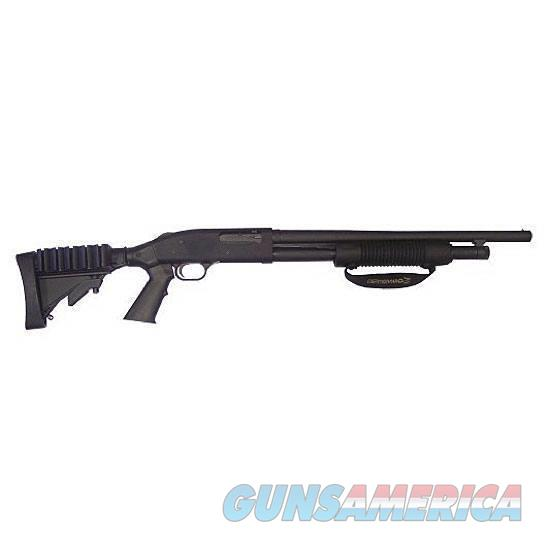 "Mossberg 500 Special Purpose Tactical Pump Action Shotgun 12 Gauge 20"" Barrel 5 Rounds Adjustable Stock Black Finish   Guns > Shotguns > Mossberg Shotguns > Pump > Tactical"