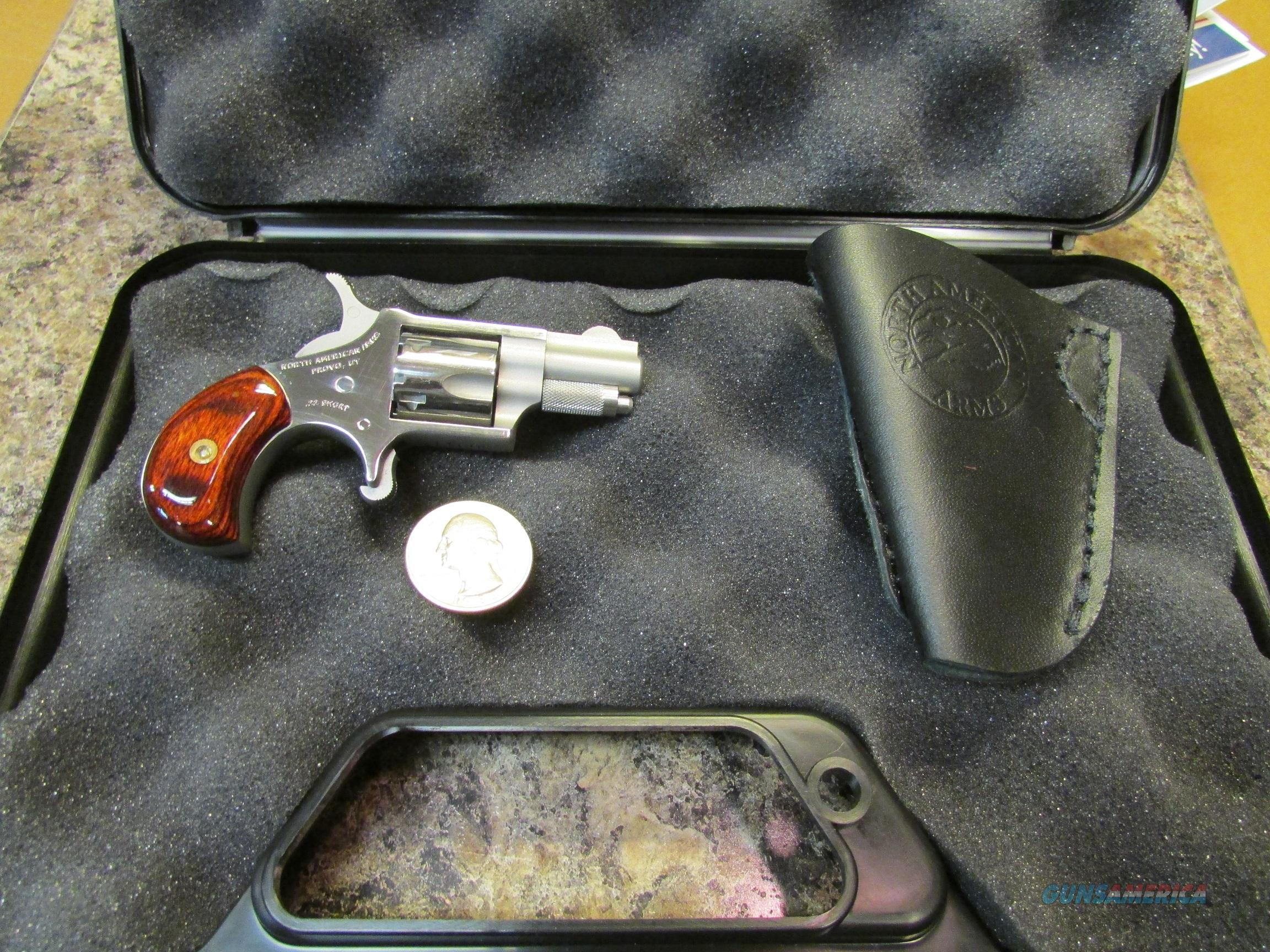 NAA 22S .22 SHORT LIMITED PRODUCTION with a $25  NAA holster !  Guns > Pistols > North American Arms Pistols