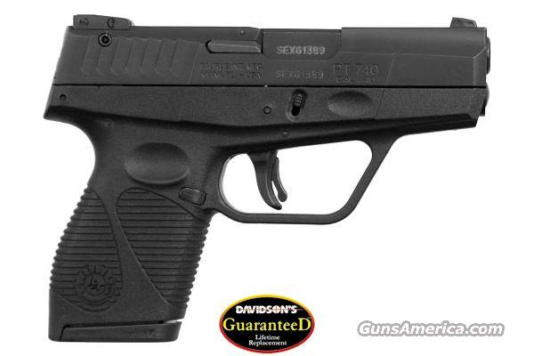 Taurus 740 Slim 40SW 6RD Mag NIB, LIFETIME REPLACEMENT WARRANTY! NO Credit Card Fees!  Guns > Pistols > Taurus Pistols/Revolvers > Pistols > Polymer Frame