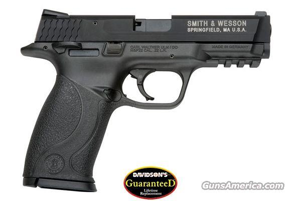Smith & Wesson S&W M&P22 Threaded Barrel 22LR  12RD Mag NIB Lifetime Replacement Warranty! NO Credit Card Fees!  Guns > Pistols > Smith & Wesson Pistols - Autos > .22 Autos