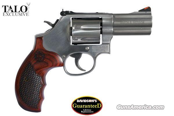 Smith & Wesson S&W 686 PLUS - Distinguished Combat Magnum 357 Mag 7Rounds, TALO Edition, NIB, LIFETIME REPLACEMENT WARRANTY! NO Credit Card Fees!  Guns > Pistols > Smith & Wesson Revolvers > Full Frame Revolver