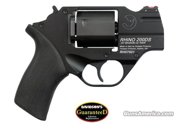 "Chiappa Rhino 357Mag 2""B 6Rds with Custom Leather Holster NIB  Guns > Pistols > Chiappa Pistols & Revolvers > Rhino Models"