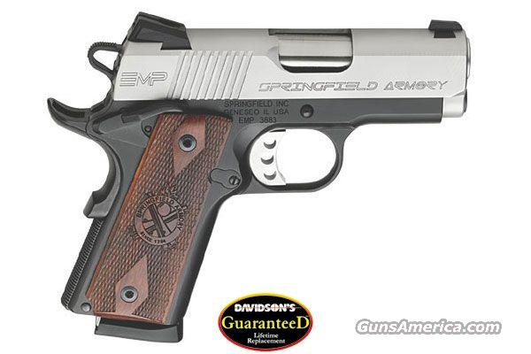 Springfield 1911 emp 40sw 8rd mags nib lifetime replacem for sale