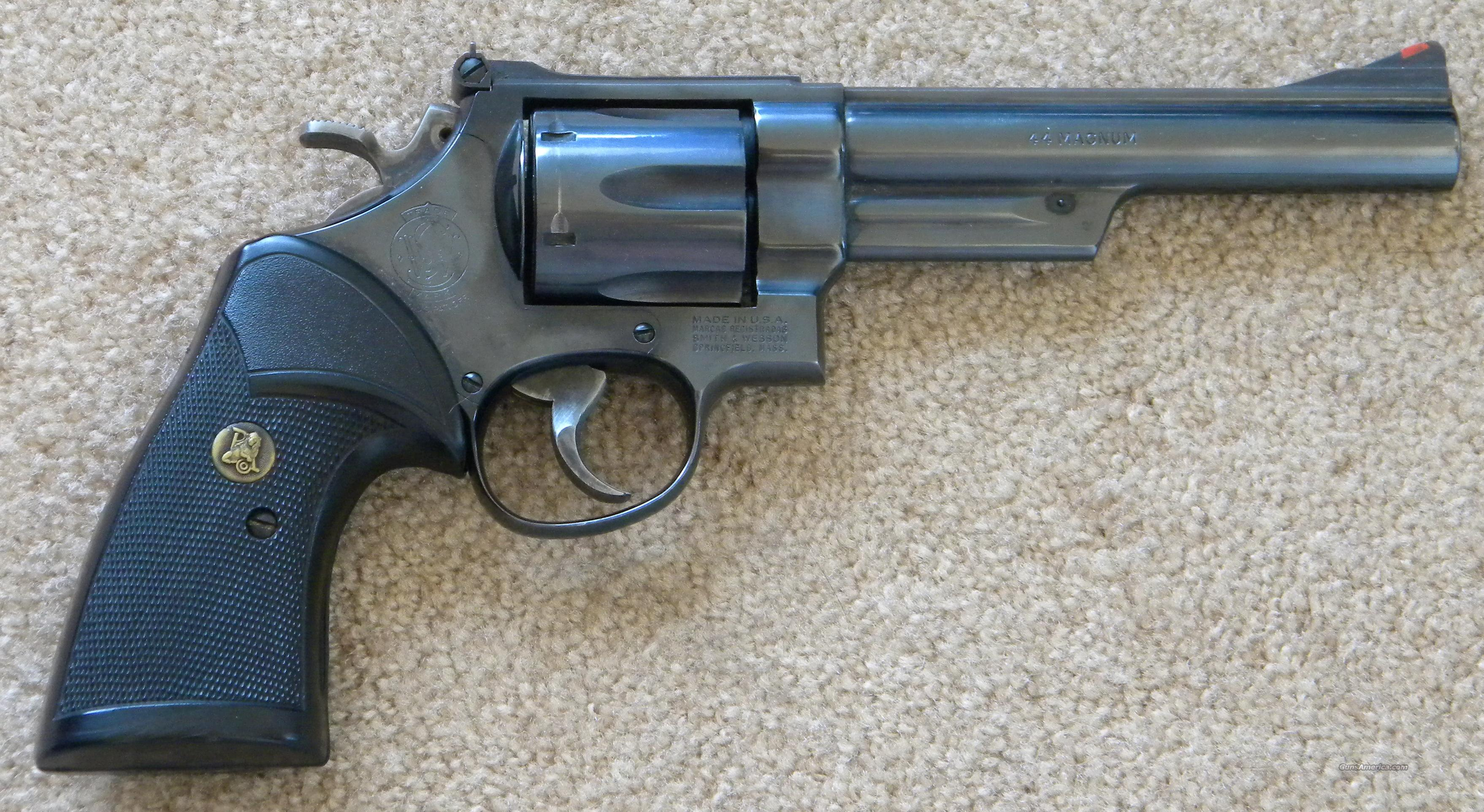 .44 Magnum S&W  Guns > Pistols > Smith & Wesson Revolvers > Full Frame Revolver