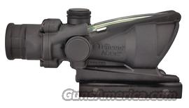 TRIJICON ACOG 4X32 GRN CHV W/TA51 MT  Non-Guns > Scopes/Mounts/Rings & Optics > Rifle Scopes > Fixed Focal Length