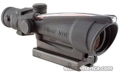 TRIJICON ACOG 3.5X35 RED CHEV .223  Non-Guns > Scopes/Mounts/Rings & Optics > Rifle Scopes > Fixed Focal Length