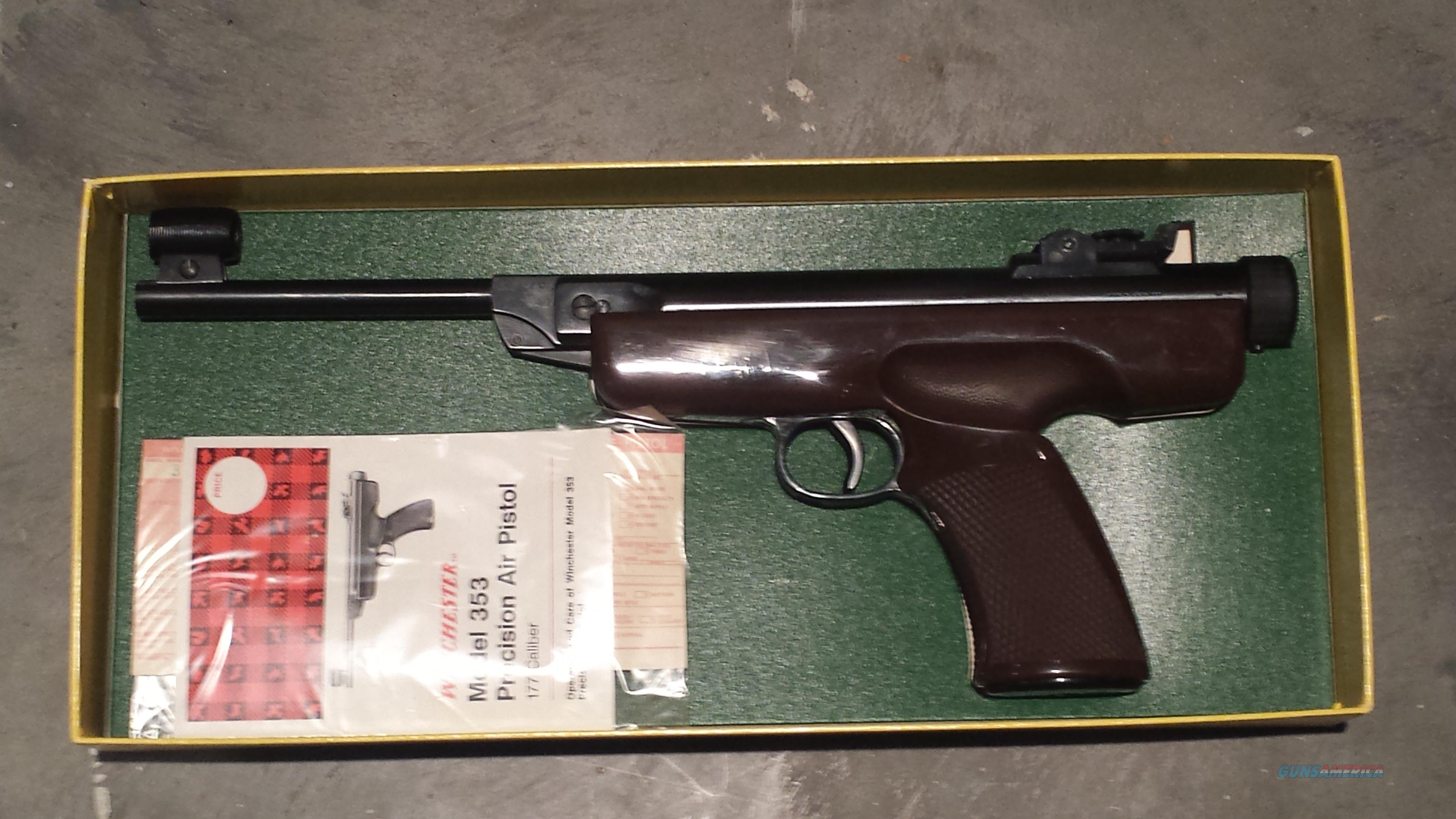 Winchester 353 Air Pistol As New  Non-Guns > Air Rifles - Pistols > Other