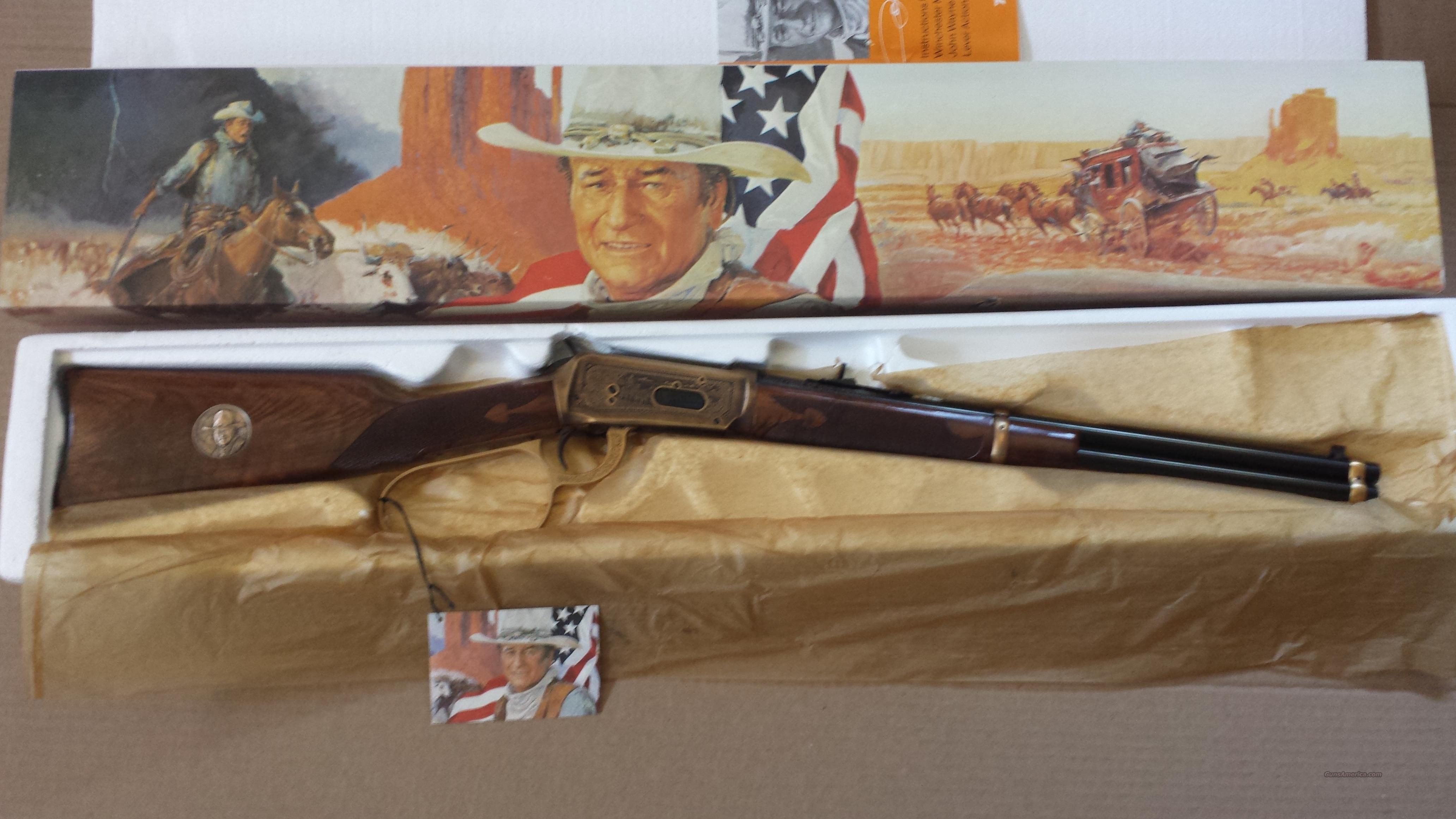 "Winchester 94 John Wayne ""Duke"" Commerative NIB  Guns > Rifles > Winchester Rifle Commemoratives"