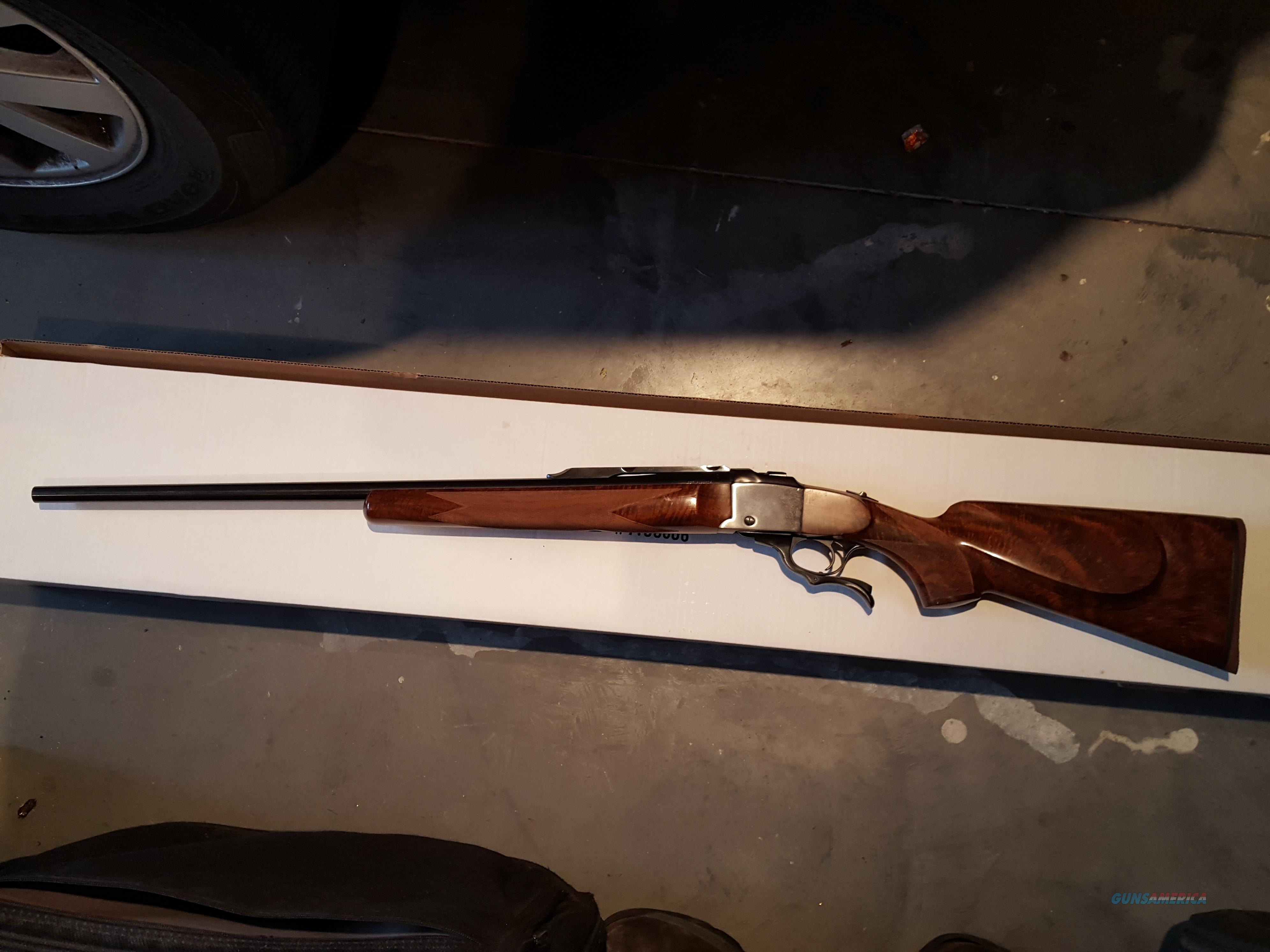 Ruger no 1 257 Roberts w/extra fancy custom wood  Guns > Rifles > Ruger Rifles > #1 Type