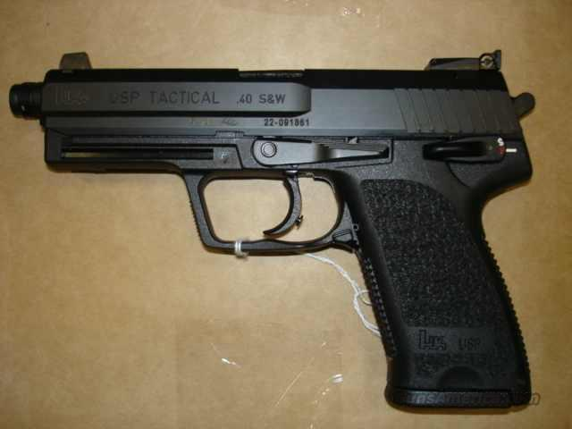 H&K USP 40 TACTICAL NIB (HOT BUY)  Guns > Pistols > Heckler & Koch Pistols > Polymer Frame
