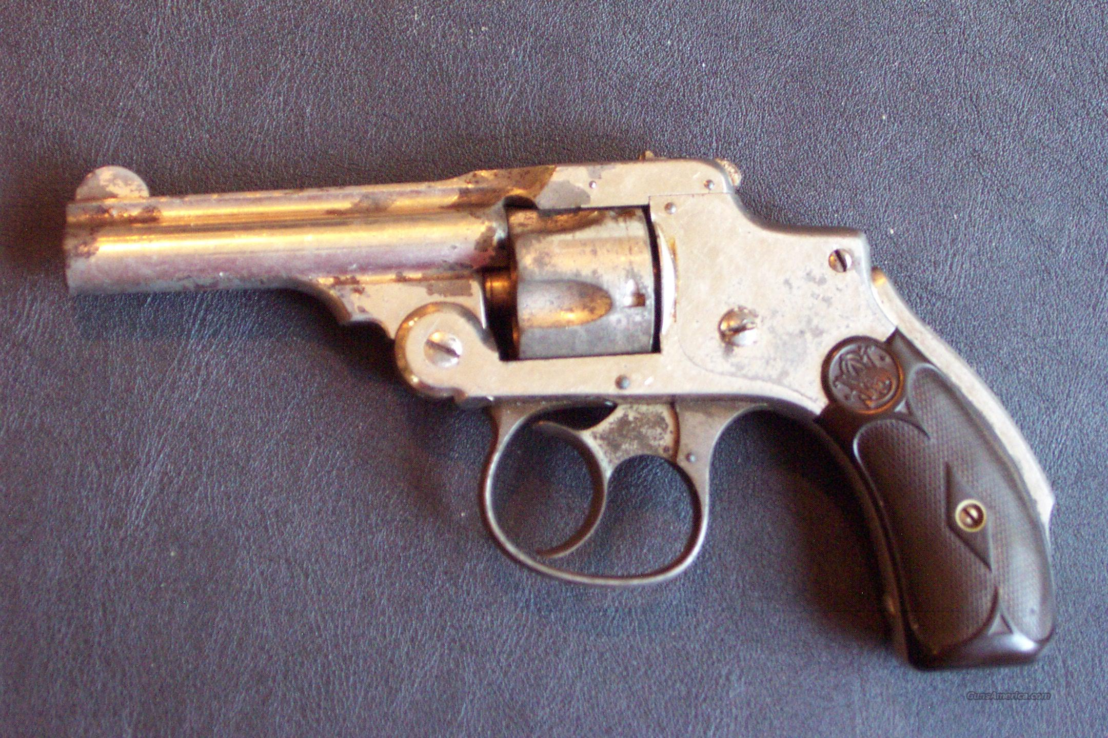 Smith & Wesson 32 cal. 5 shot - chrome  Guns > Pistols > Smith & Wesson Revolvers > Pocket Pistols