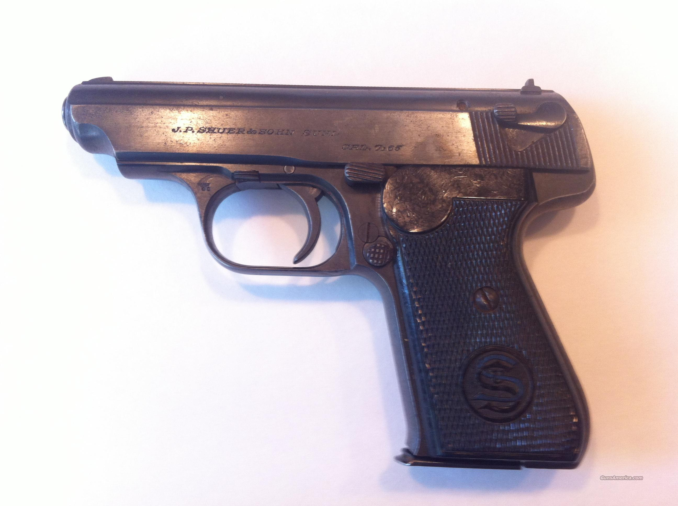 "WWII Nazi J.P. Sauer & Sohns 38H Police Pistol ""N & C marked"" Reduced from $625  Guns > Pistols > J.P Sauer Pistols"