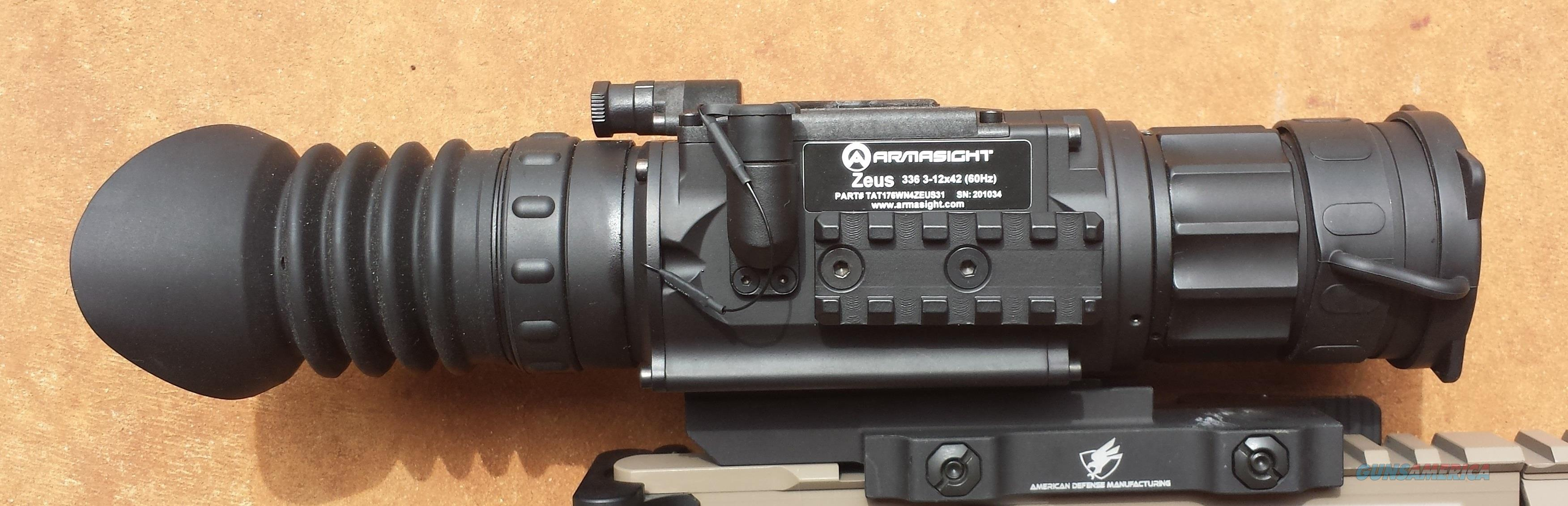 Armasight Zeus 336 3-12x42 (60 Hz) Thermal Scope  Non-Guns > Night Vision