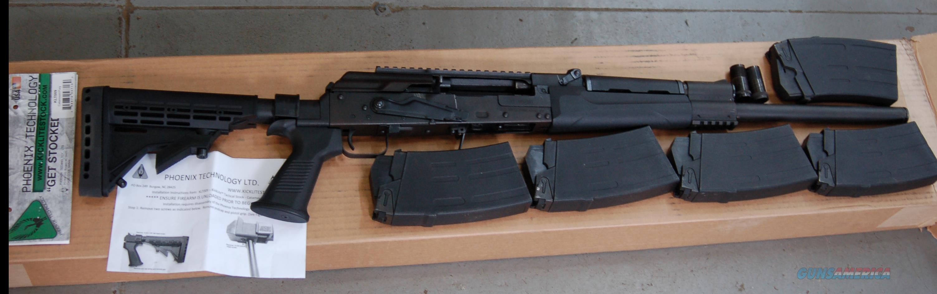 Catamount Fury 12 Gauge, Adj Stock,(5) Mags, (3) Chokes  Guns > Shotguns > Century International Arms - Shotguns > Shotguns
