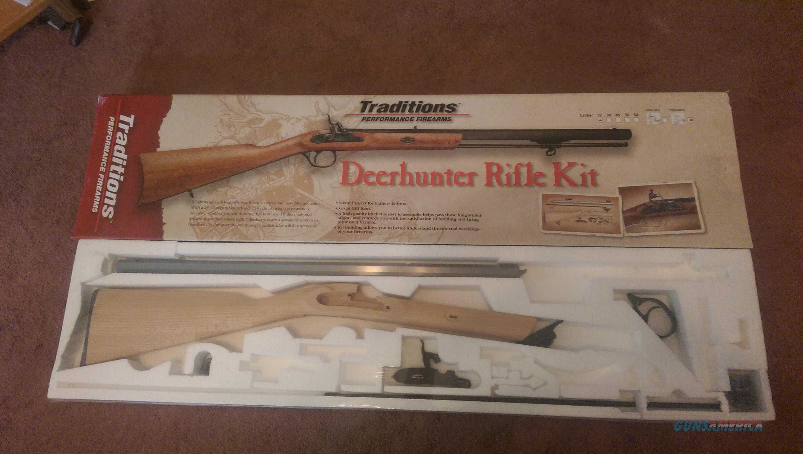 Traditions Deerhunter Kit 32 caliber Guns > Rifles > Muzzleloading ...