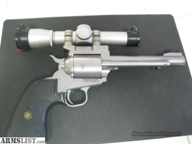 FREEDOM ARMS 454 CASULL  Guns > Pistols > Freedom Arms Pistols