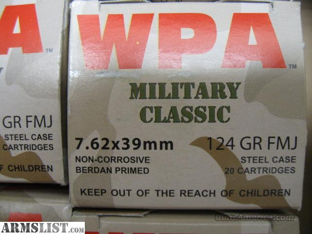 7.62x39 Ammo  Non-Guns > Ammunition