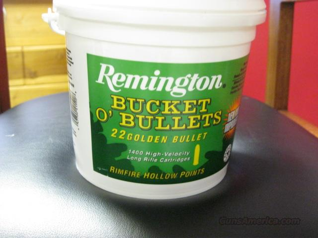 Remington  22lr Bucket of Bullets  Non-Guns > Ammunition