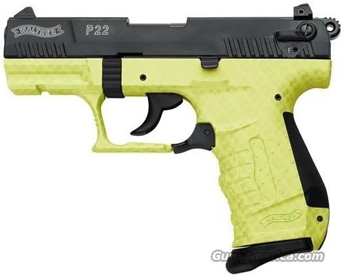 WALTHER ARMS P22 22 LR  Guns > Pistols > Walther Pistols > Post WWII > P22