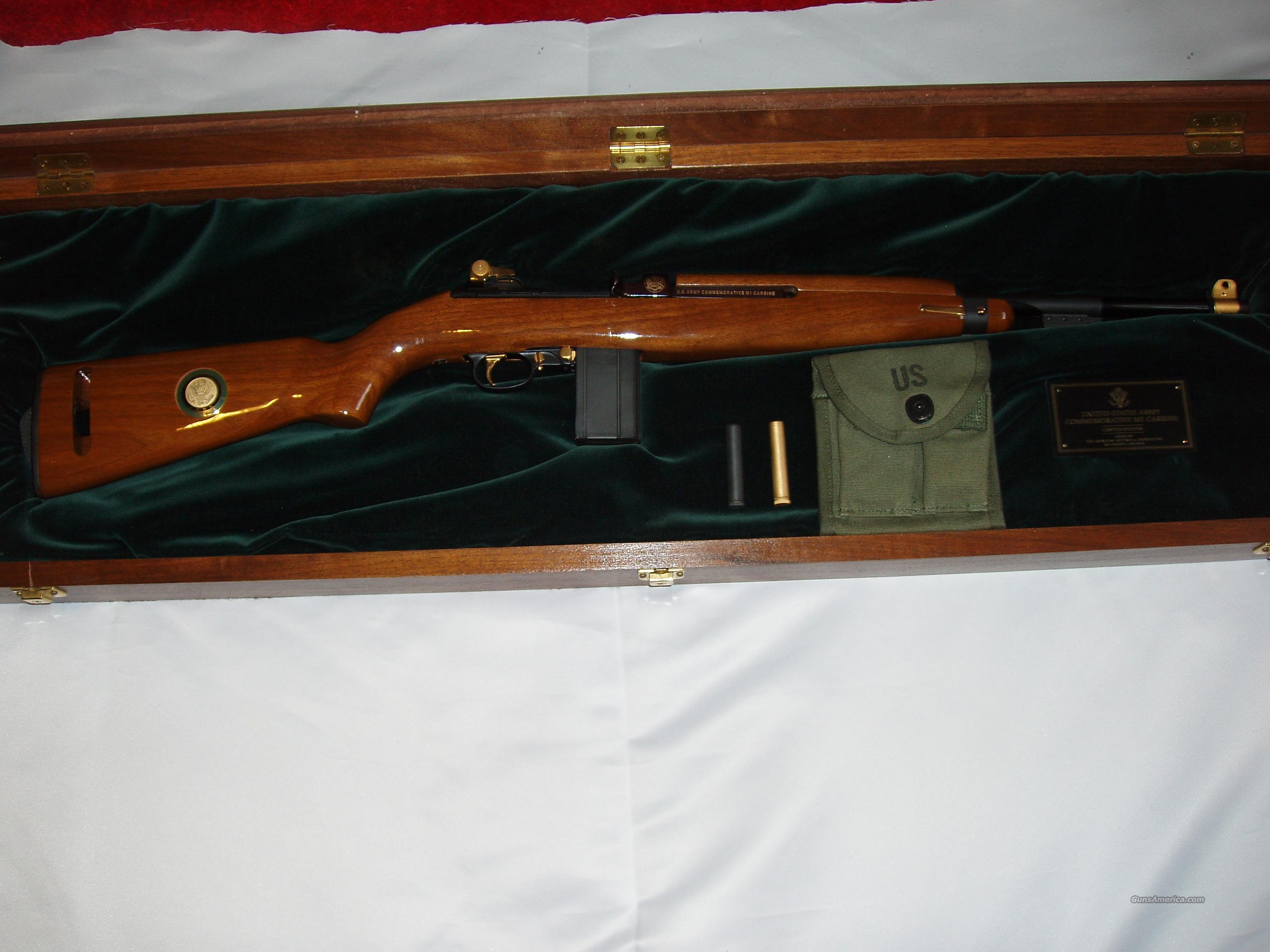 US Army Commemorative M1 Carbine  Guns > Rifles > Custom Rifles > Other
