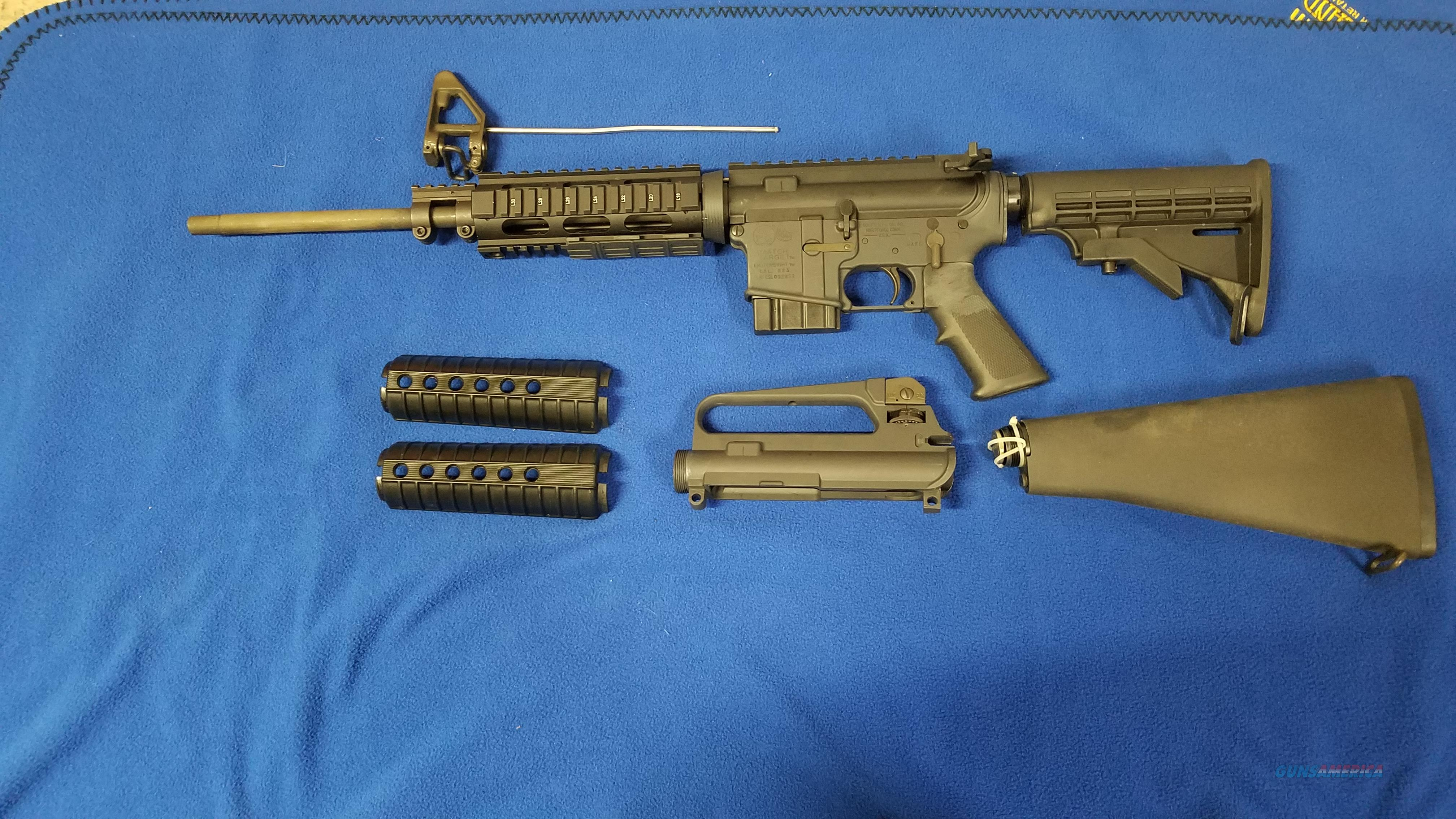 """Colt .223 Match Target Competition HBAR 16.1""""  Guns > Rifles > Colt Military/Tactical Rifles"""