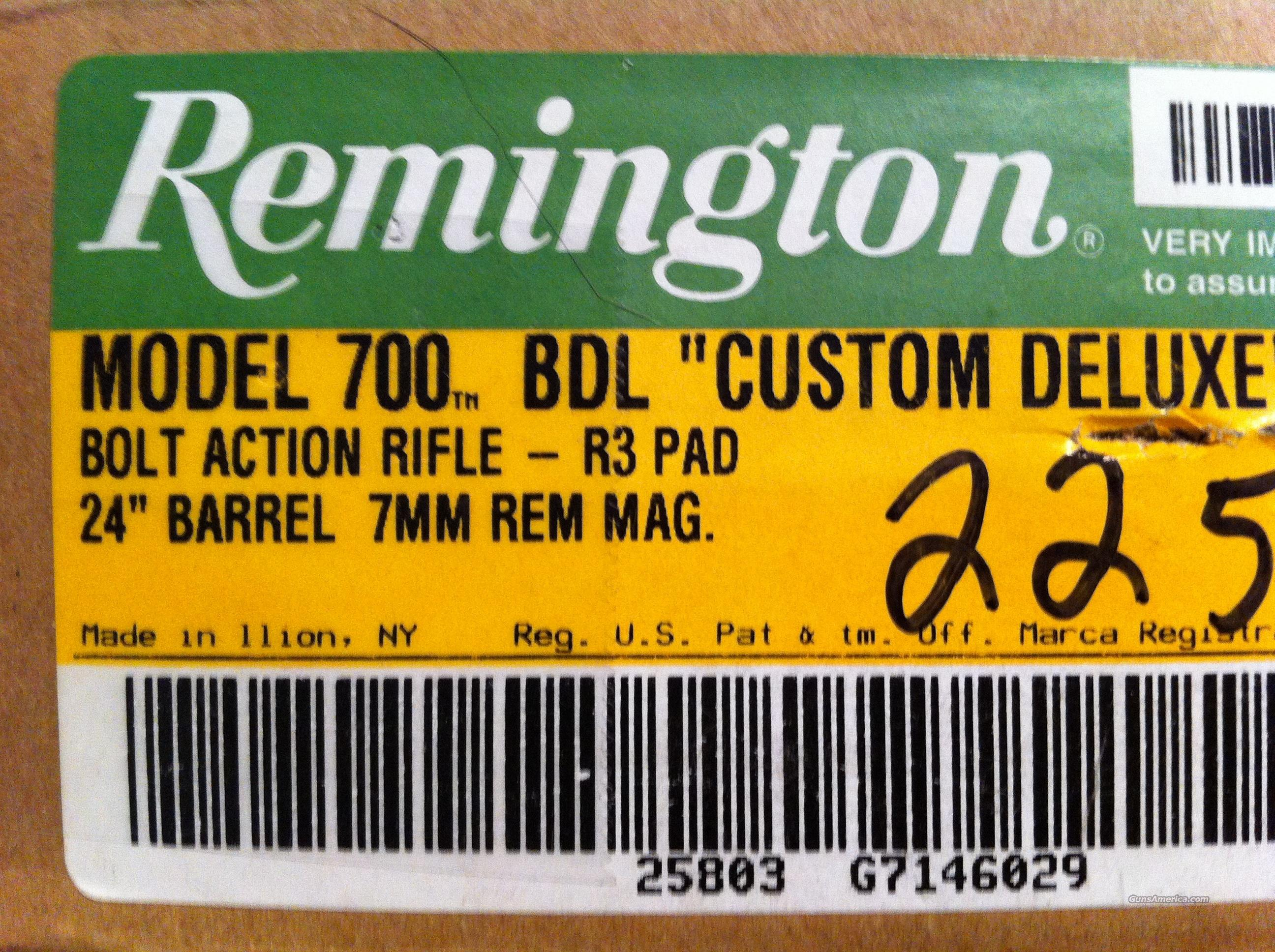 Remington m700 7mm rem mag w/Nikon 4-12x50 ***NIB***  Guns > Rifles > Remington Rifles - Modern > Model 700 > Sporting